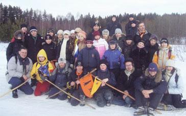 Слет скаутов-разведчиков Костромской области